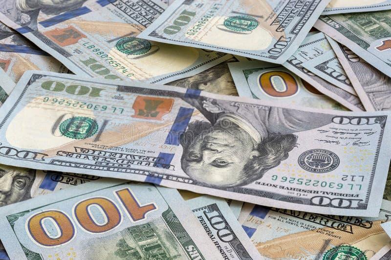 Fond de note des Etats-Unis USD 100 photos stock