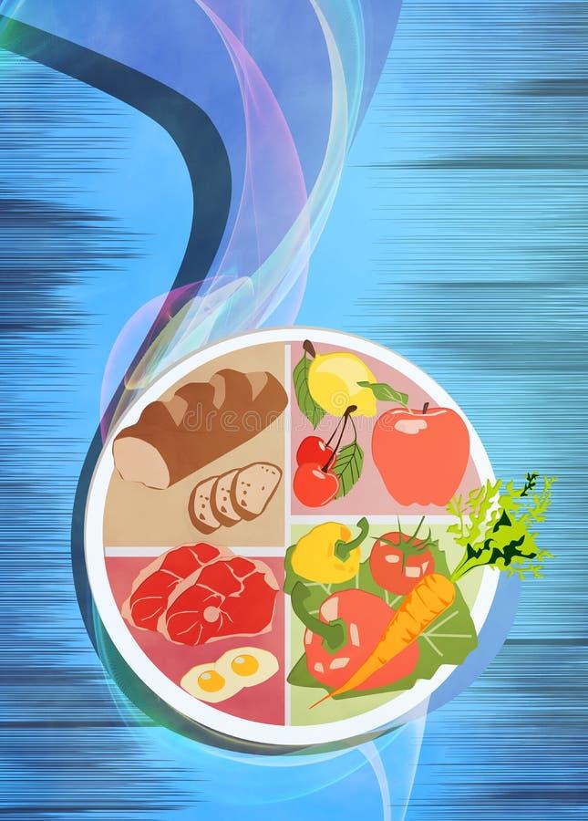 Fond de nourriture illustration de vecteur