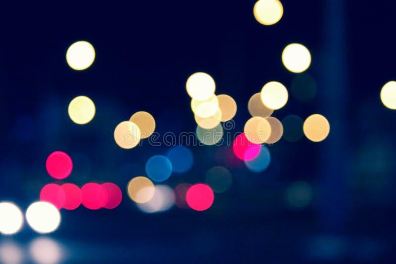 Fond de nuit de ville photographie stock