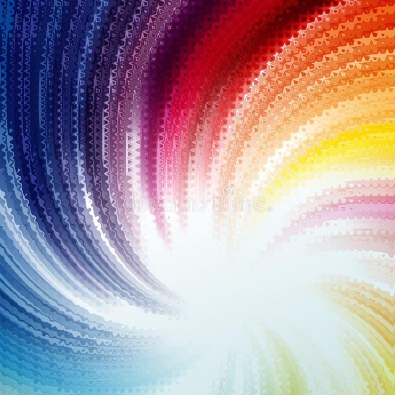 Fond de ondulation de mosaïque abstraite illustration libre de droits
