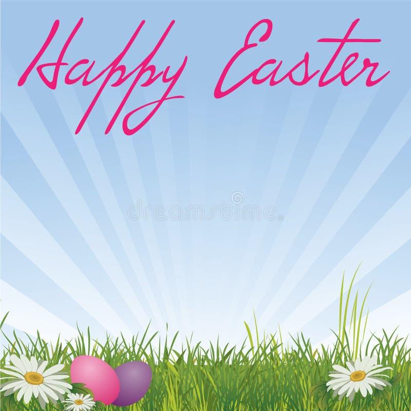 Fond de Pâques illustration de vecteur