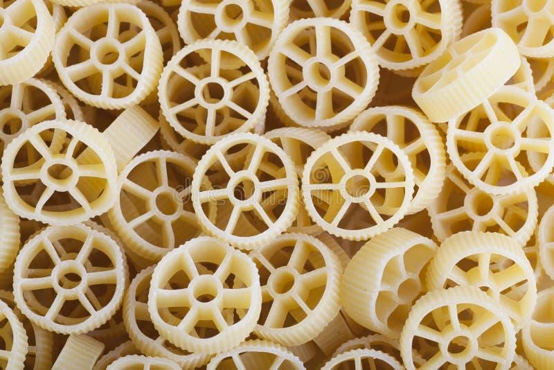 Fond de pâtes de Rotelle photographie stock