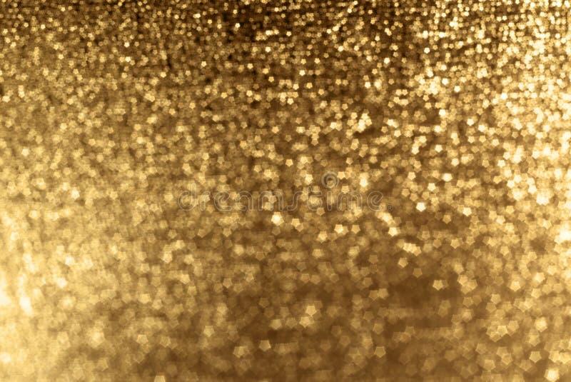 Fond de pétillement d'or photos libres de droits