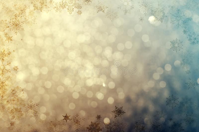 Fond de pétillement de Noël images libres de droits
