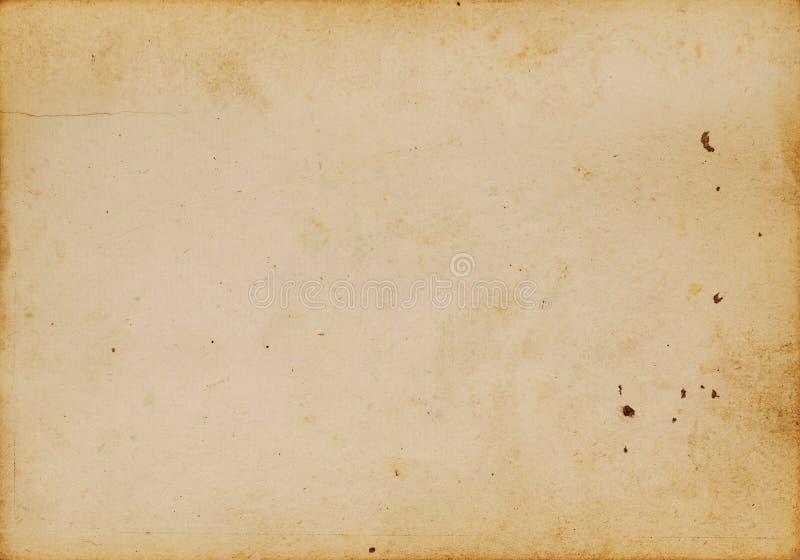 Fond de papier antique photo libre de droits