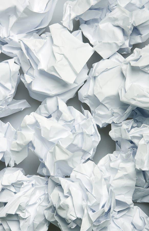 Fond de papier chiffonné image libre de droits