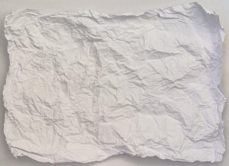Fond de papier chiffonné de texture, illustration libre de droits
