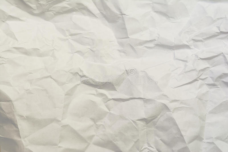 Fond de papier chiffonné de texture, images libres de droits