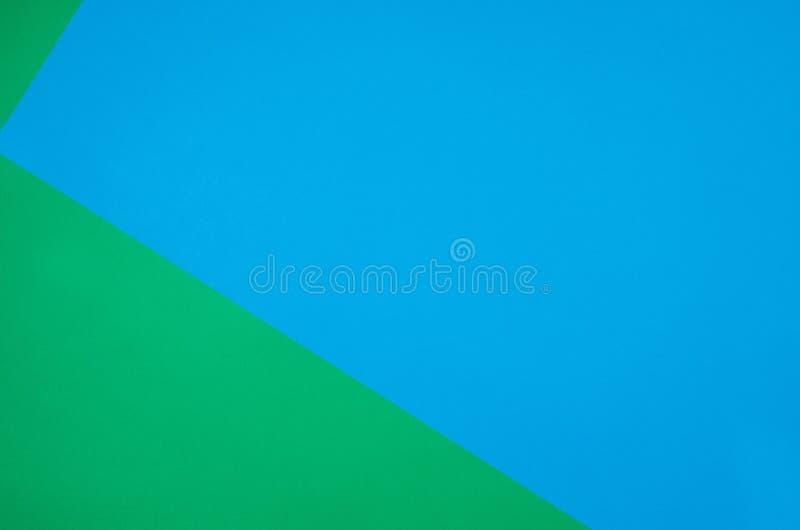 Fond de papier coloré avec la texture Couleurs bleues avec l'espace de copie photo libre de droits
