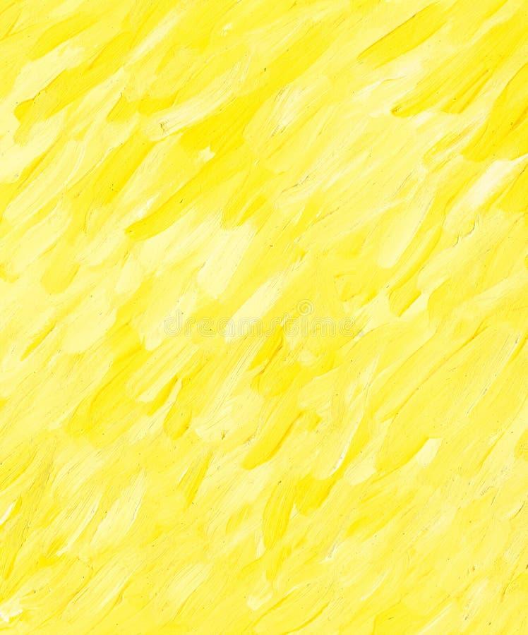 Fond de papier jaune illustration stock