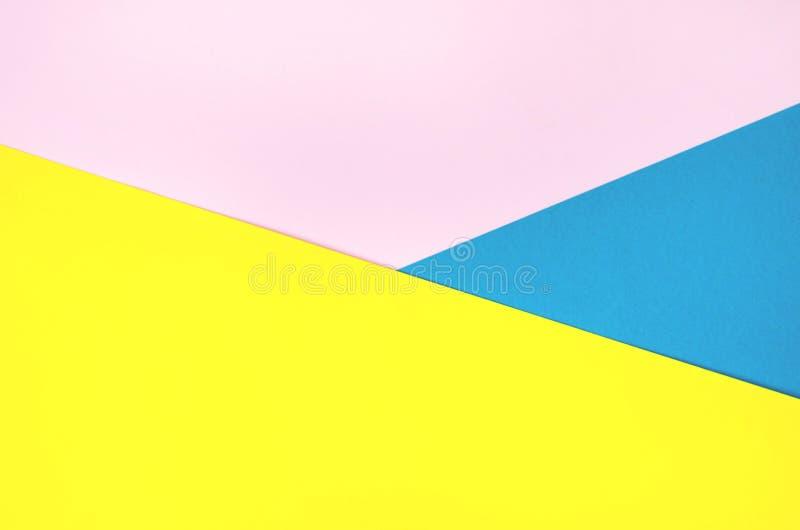 Fond de papier lumineux de plusieurs couleurs photographie stock libre de droits