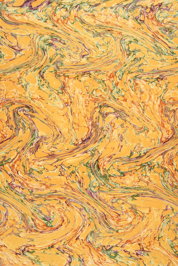 Fond de papier marbré d'antiquité. image stock