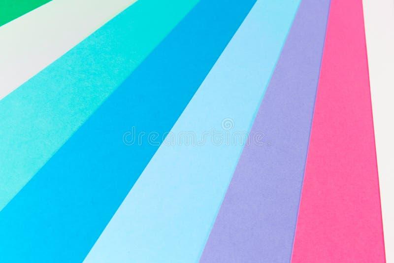 Fond de papier multicolore photographie stock libre de droits