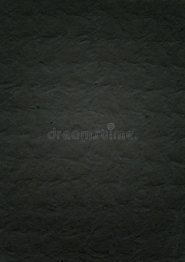 Fond de papier noir de relief de texture images libres de droits