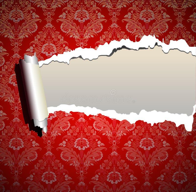 Fond de papier peint de trame de Noël illustration libre de droits