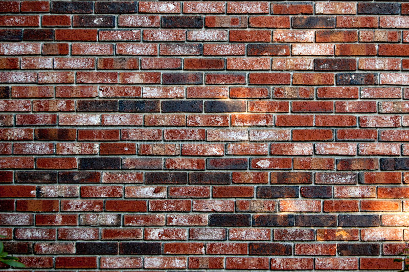 Fond de papier peint rouge de contexte de texture de modèle de mur de briques photos stock