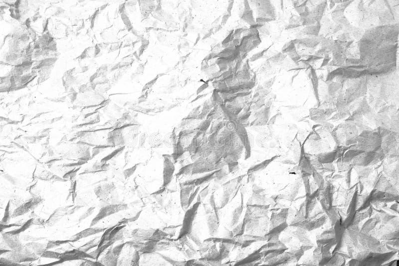 Fond de papier de recouvrement chiffonné par grunge image stock