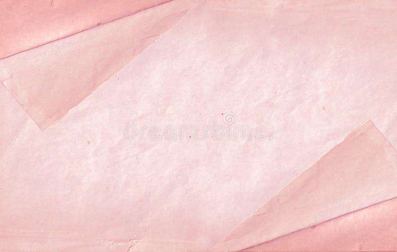 Fond de papier rose photo libre de droits