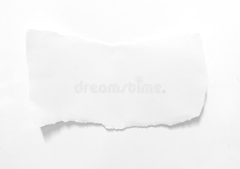 Fond de papier de texture déchiré par déchirure photographie stock