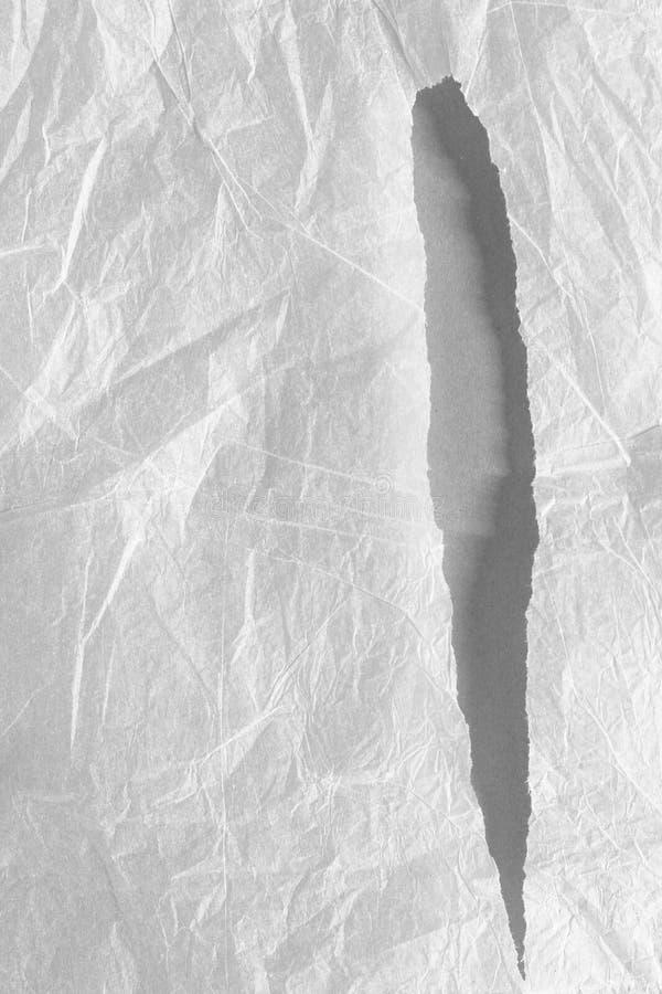 Fond de papier de texture déchiré par déchirure images libres de droits