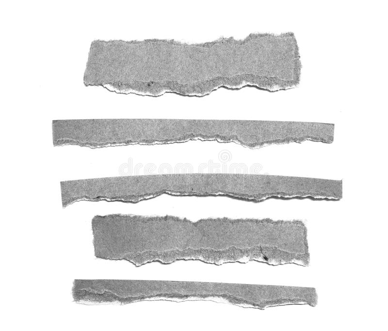 Fond de papier de texture déchiré par déchirure images stock