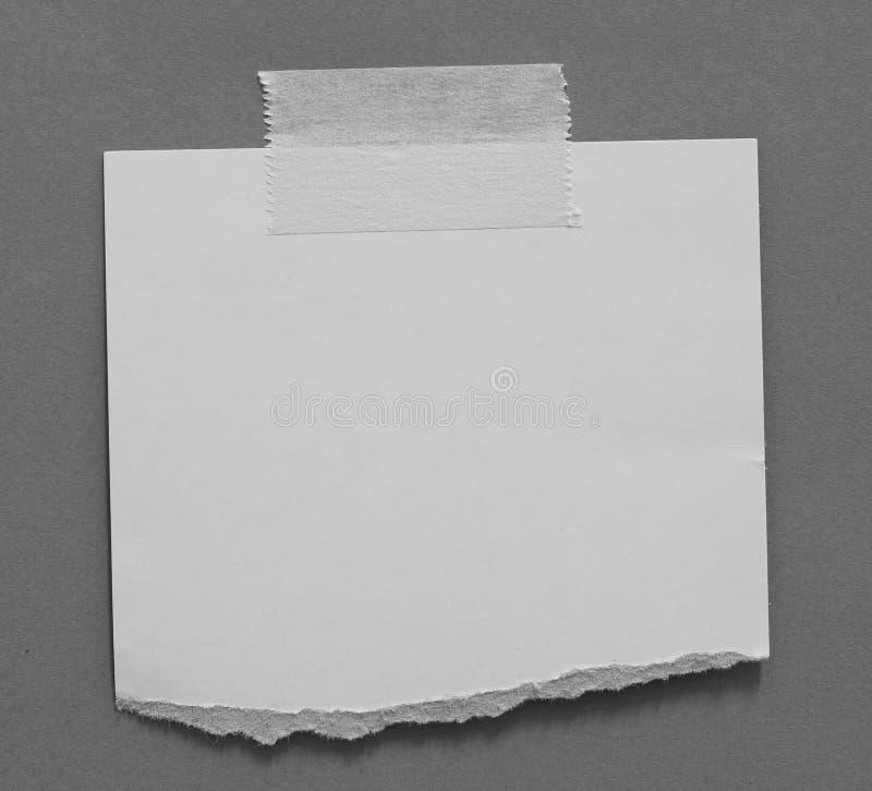 Fond de papier de texture déchiré par déchirure image libre de droits