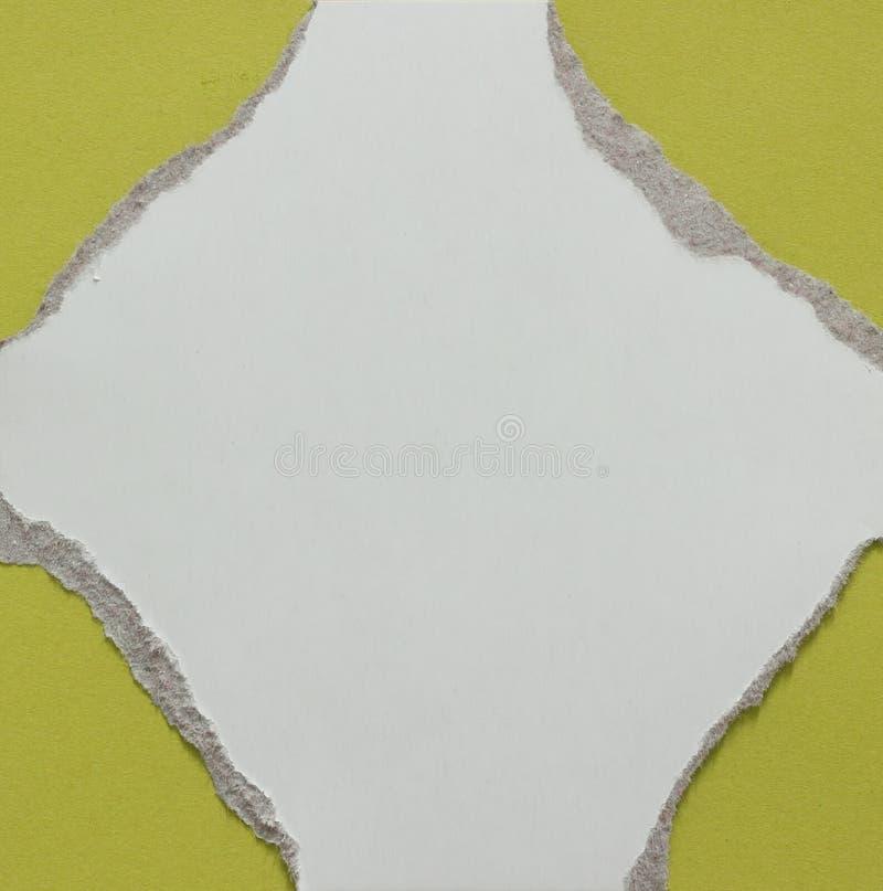 Fond de papier de texture déchiré par déchirure photo libre de droits