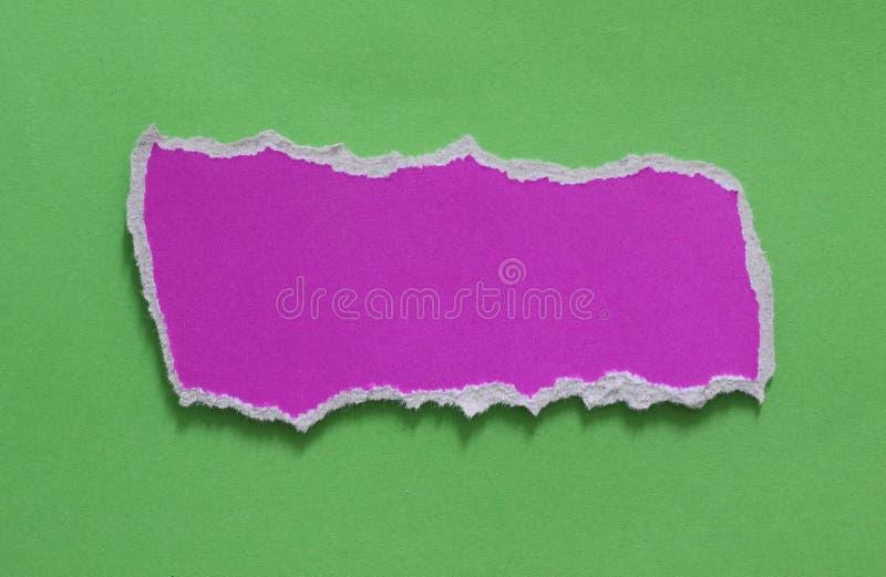 Fond de papier de texture déchiré par déchirure photos libres de droits