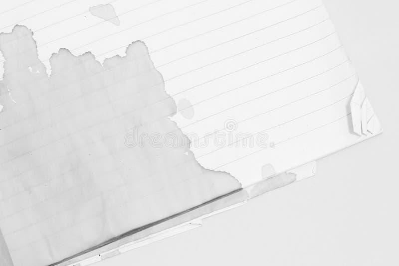 Fond de papier de texture déchiré par déchirure photographie stock libre de droits
