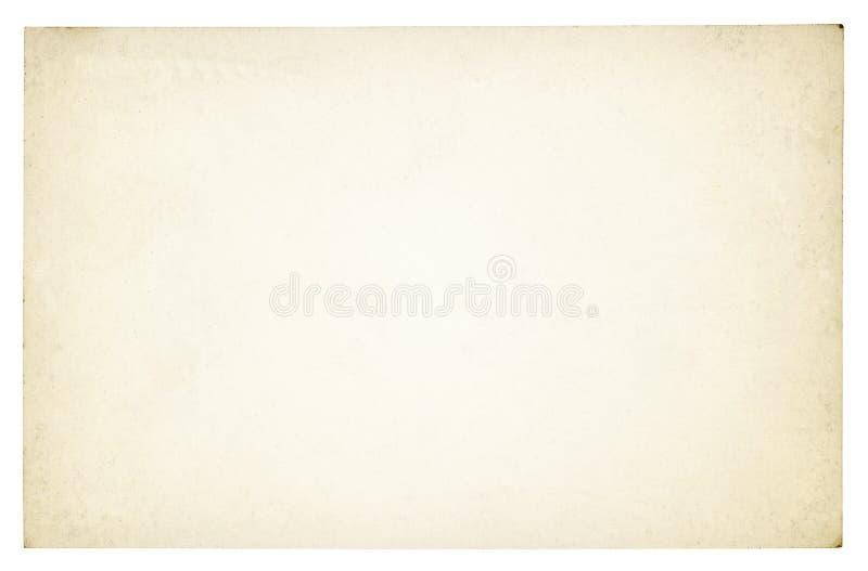 Fond de papier de vintage d'isolement photo stock