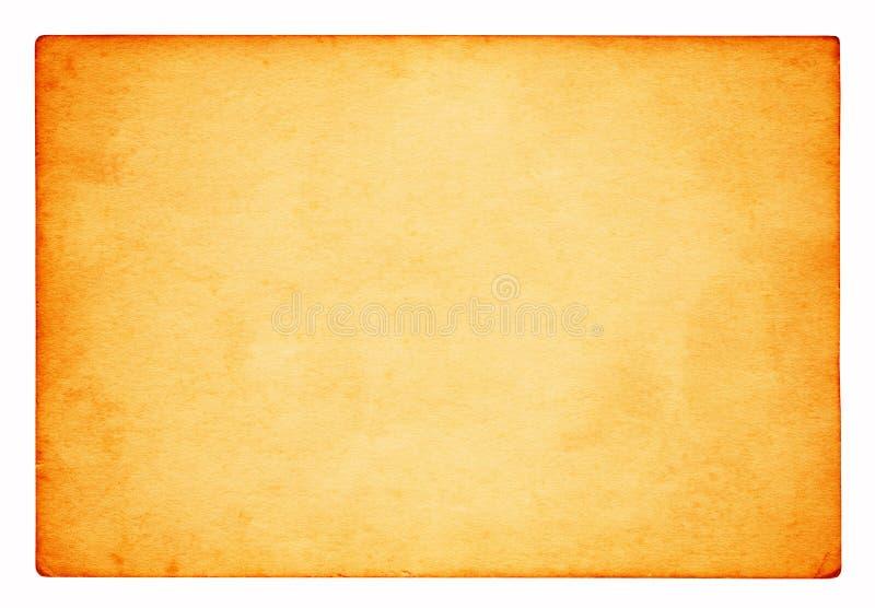 Fond de papier de vintage d'isolement photos stock