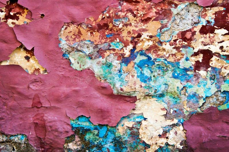 Fond de peinture d'épluchage photo libre de droits