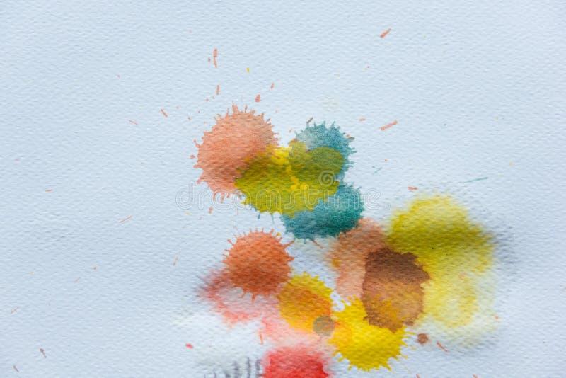 Fond de peinture d'aquarelle images stock