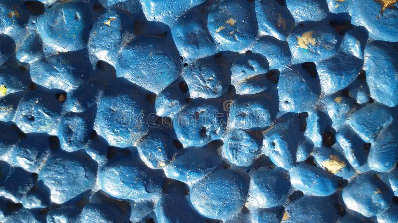 Fond de pierres bleues Petite texture de pierres photographie stock