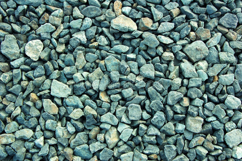 Fond de pierres concassées image stock
