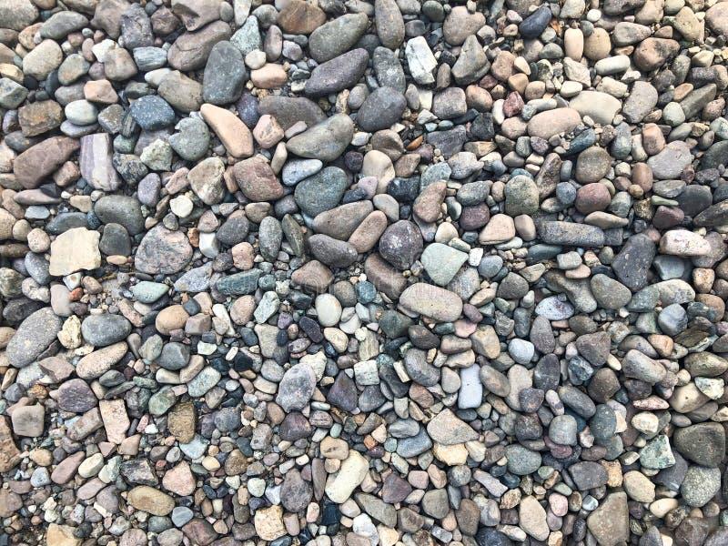 Fond de pierres de mer ou de rivière, petites pierres, petites, pierres photo libre de droits