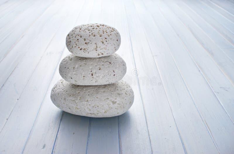 Fond de pile de pierres de roche images stock