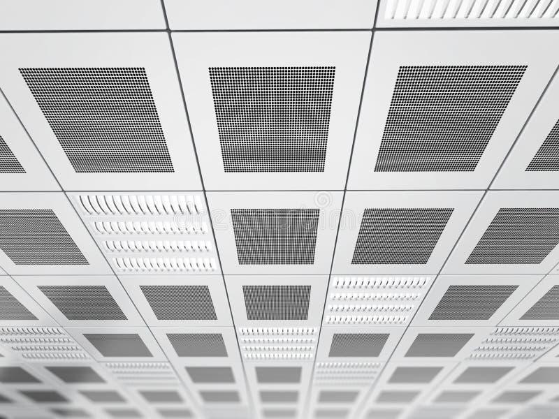 Fond de plafond suspendu illustration libre de droits