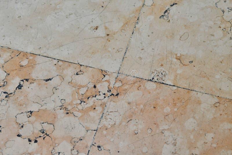 Fond de plancher modelé par marbre images stock