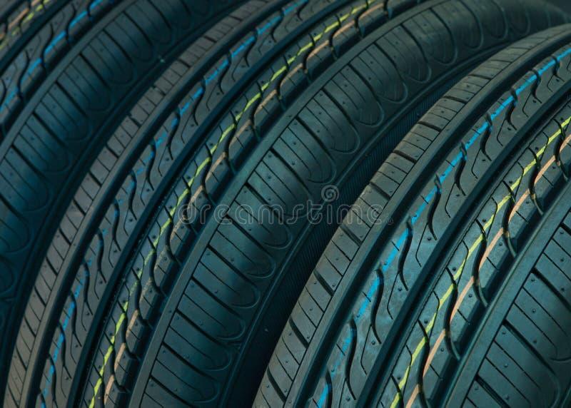 Fond de pneus de voiture photo libre de droits