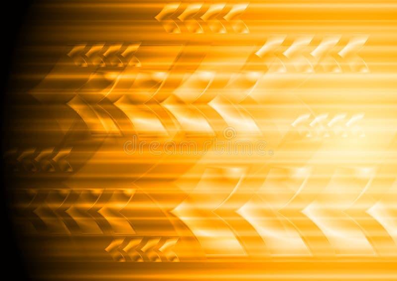 Fond de pointe élégant lumineux avec des flèches illustration libre de droits