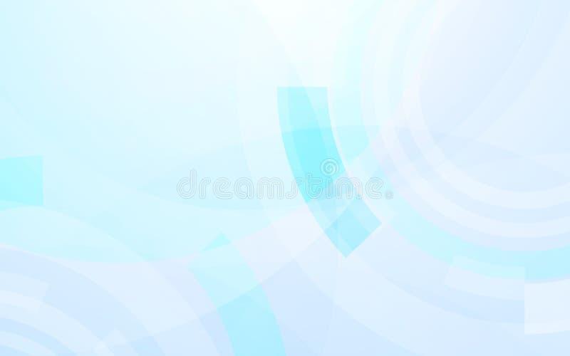 Fond de pointe numérique de concept d'hexagones de technologie abstraite illustration stock