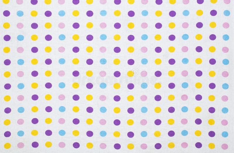 Fond de points de polka image libre de droits