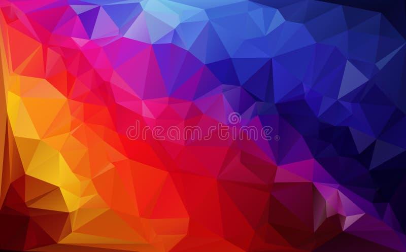 Fond de polygone photos libres de droits