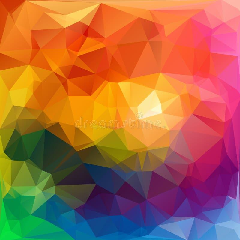 Fond de polygone image stock
