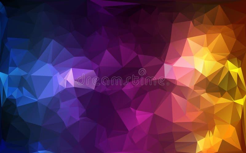 Fond de polygone image libre de droits