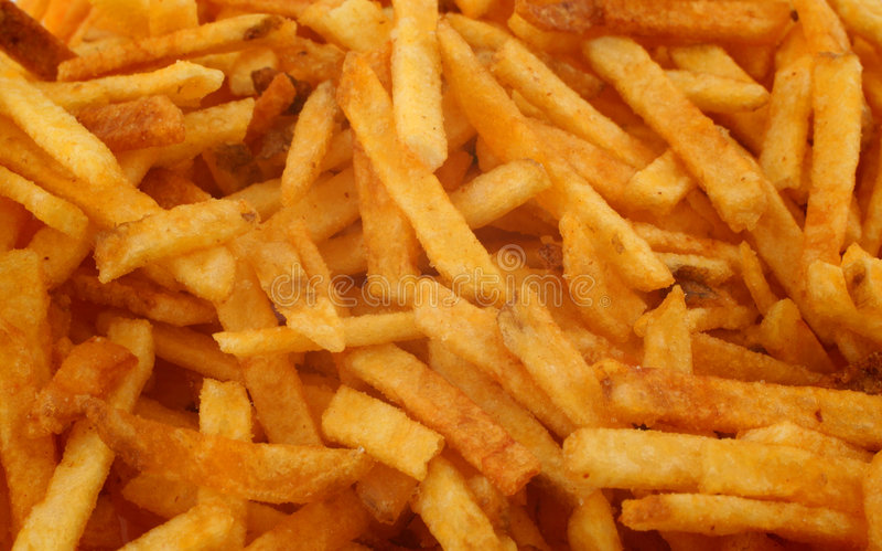 Fond de pommes frites photo stock