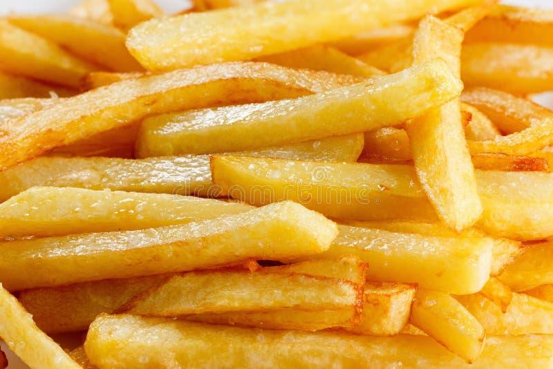 Fond de pommes frites images libres de droits