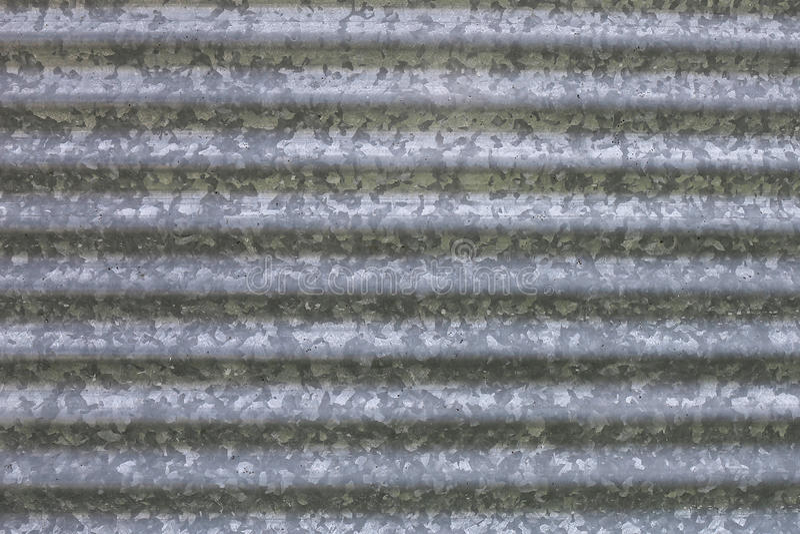Fond de poubelle de stockage en acier galvanisée ondulée de grain de ferme photo stock