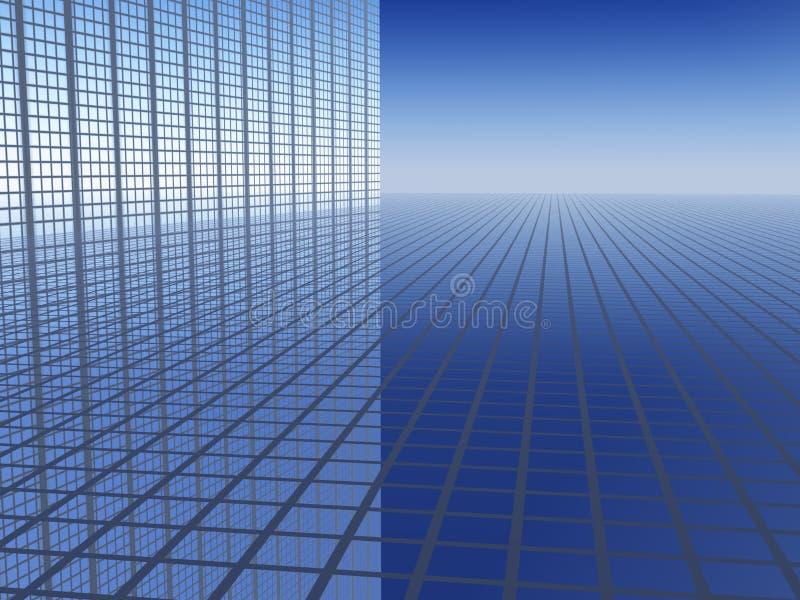 fond de progrès des affaires 3D illustration libre de droits
